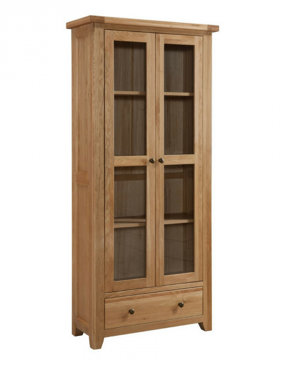 coast glazed display cabinet