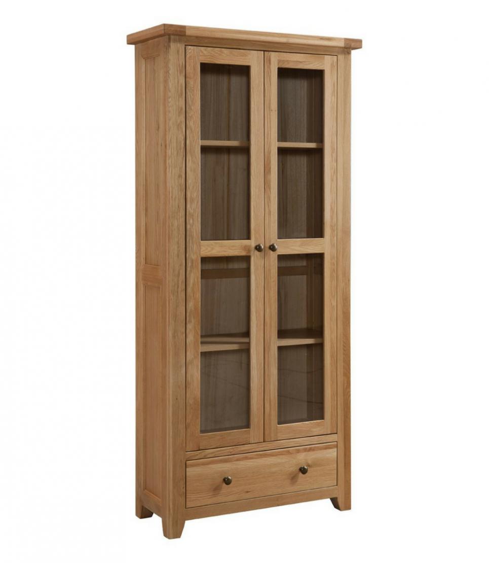 coast glazed display cabinet