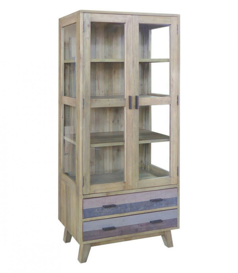 cronulla glazed display cabinet