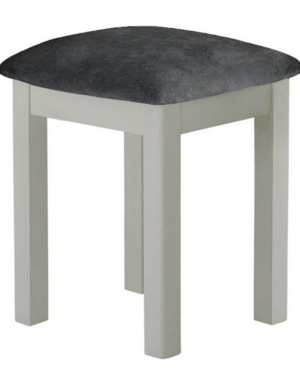 Fitzroy stool grey