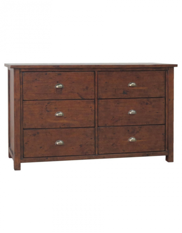 greenlands 6 drawer wide chest