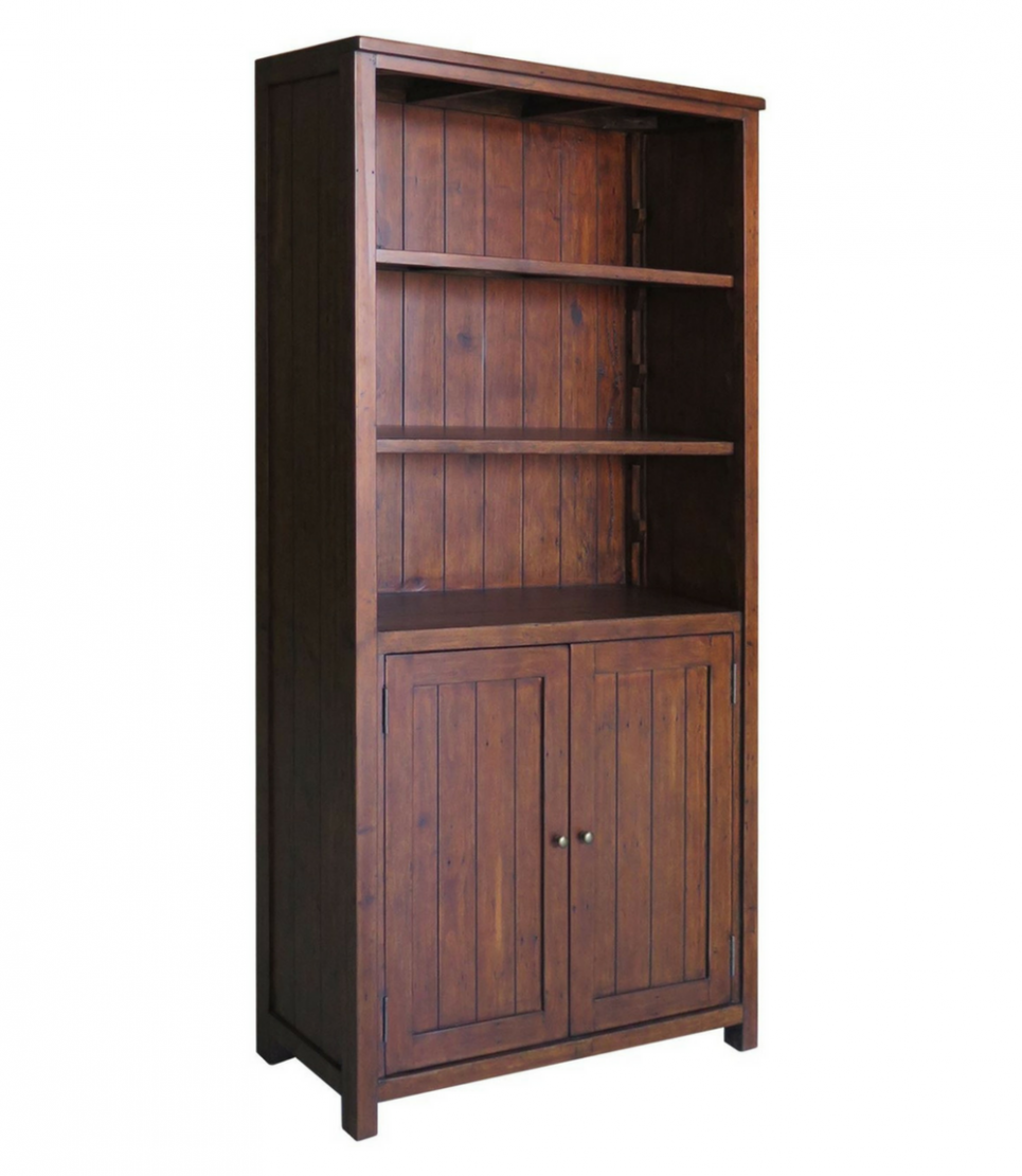 greenlands bookcase with cupboard