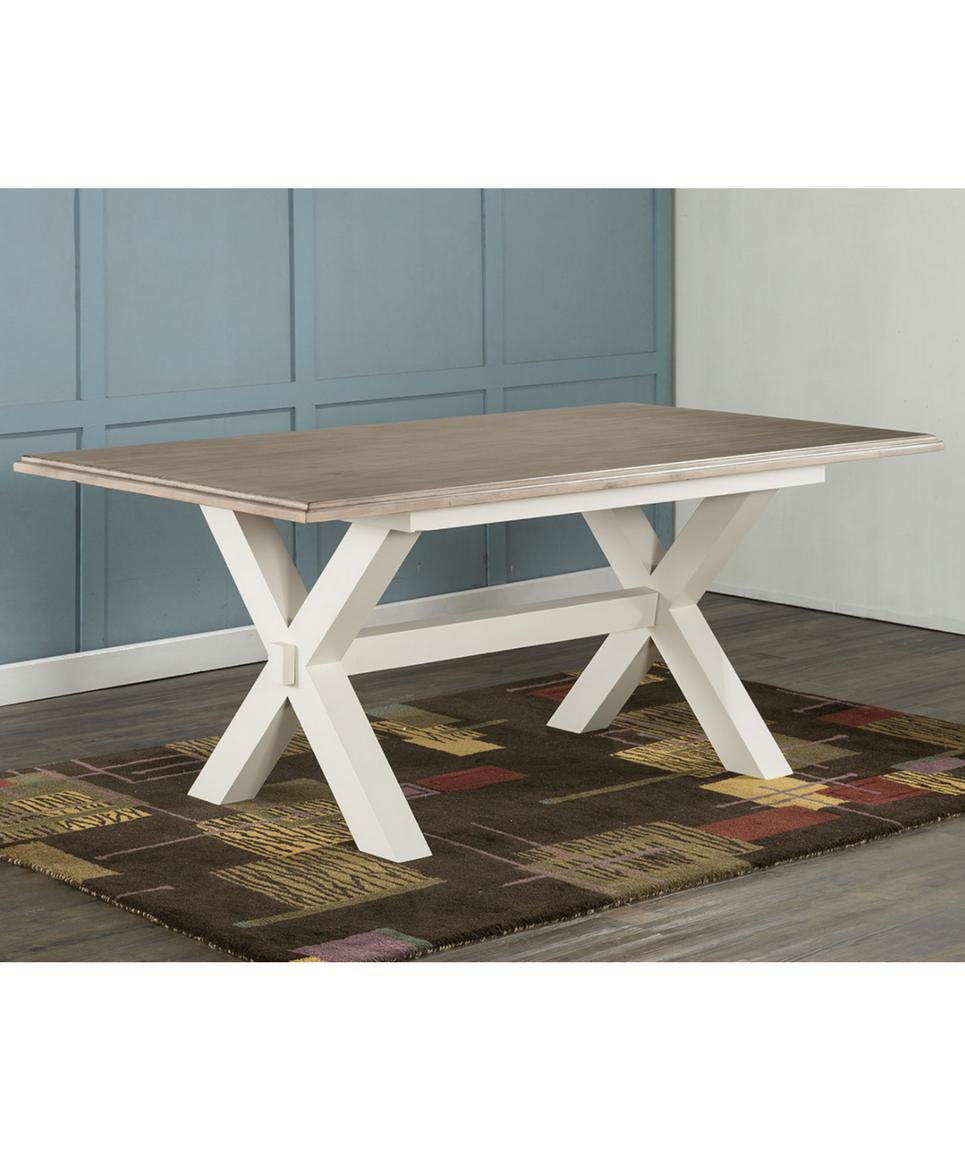Cross leg dining table geoff crust furniture hudley cross leg dining table watchthetrailerfo