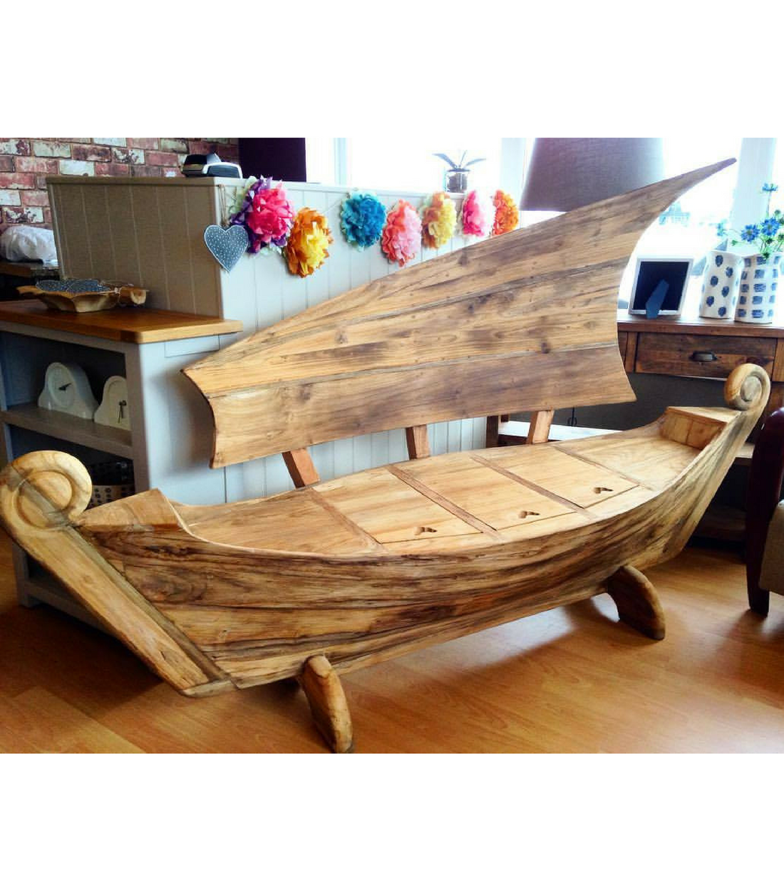 Excellent Teak Boat Bench Geoff Crust Furniture Pabps2019 Chair Design Images Pabps2019Com