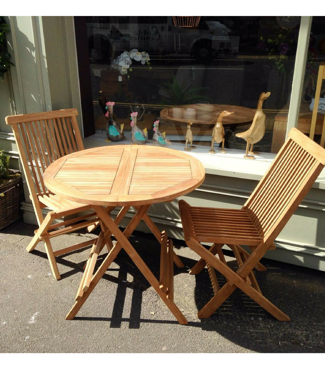 Prime Teak Folding Table And Chairs Download Free Architecture Designs Lectubocepmadebymaigaardcom